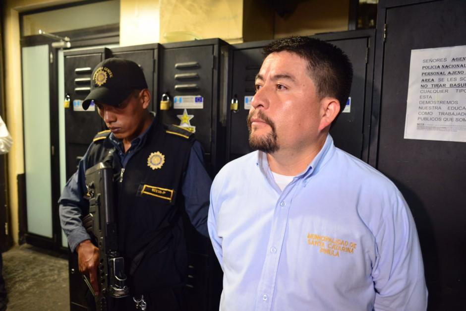 Víctor Gonzalo Alvarizaes es el actual alcalde de Santa Catarina Pinula. (Foto: Jesús Alfonso/Soy502)