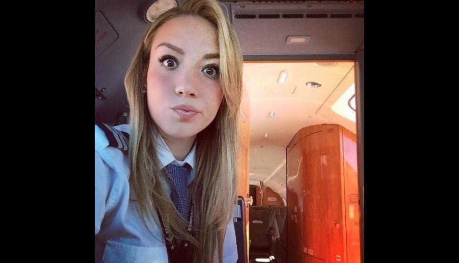 Alejandra disfruta de cada viaje. (Foto: Instagram/babywingz)