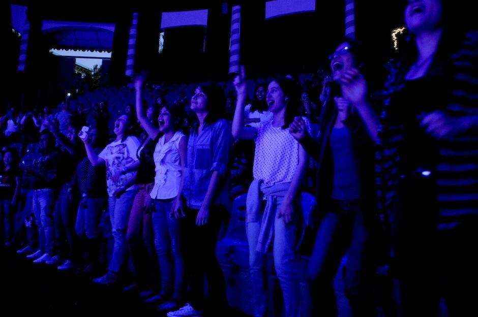 El público disfrutó de principio a fin este concierto. (Foto: Esteban Biba/Soy502)