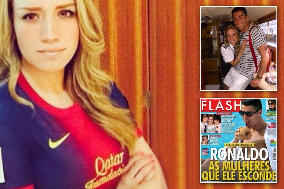 Curiosamente, Alejandra es fan de Leo Messi y el Barcelona. (Foto: thesun.co.uk))
