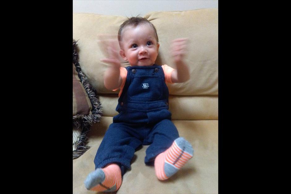 Ethan cumplirá su primer año el 17 de diciembre. (Foto: Facebook)