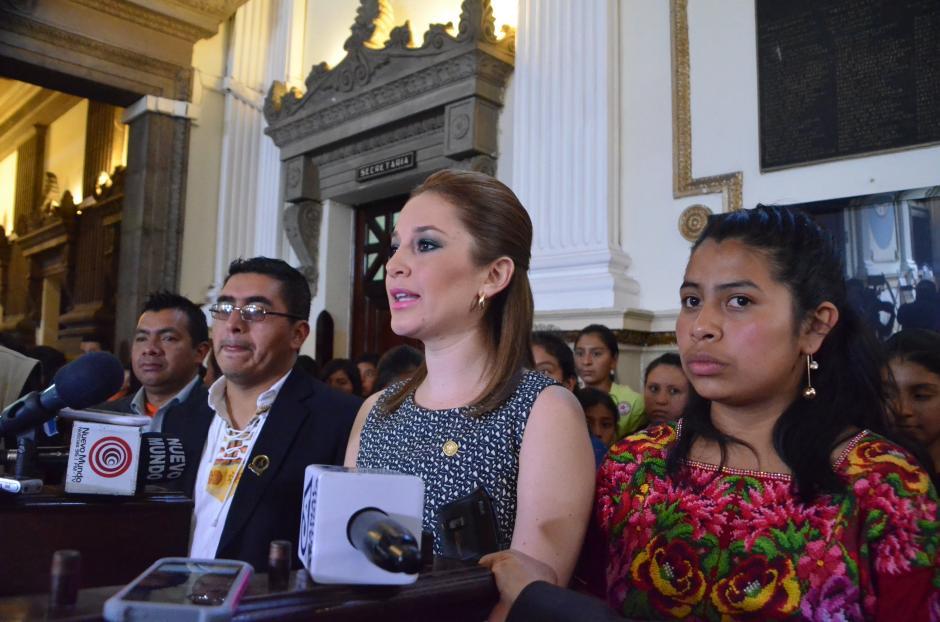 La diputada Alejandra Carrillo presentó la iniciativa. (Foto: cortesía de José Castro)
