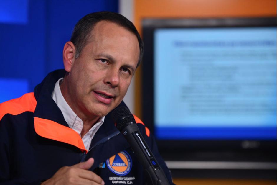 El exsecretario Ejecutivo de la Conred Alejandro Maldonado. (Foto: Archivo/Soy502)