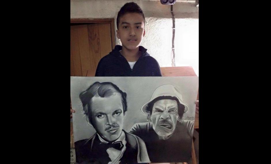 Requena se especializa en retratos. (Foto: Alejandro Requena)