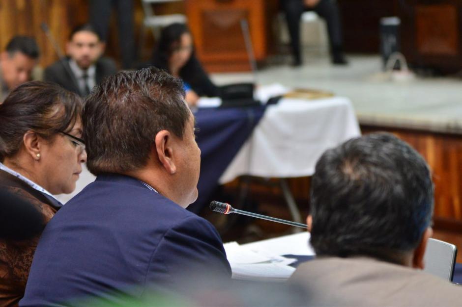 Gustavo Alejos declaró ante el Juez Miguel Ángel Gálvez. (Foto: Jesús Alfonso/Soy502)