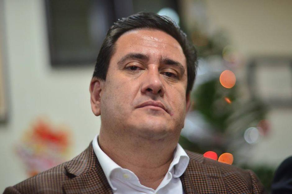 Gustavo Alejos, secretario privado de Colom, aparece en el video de Rosenberg como uno de los responsables. (Foto: Archivo/Soy502)
