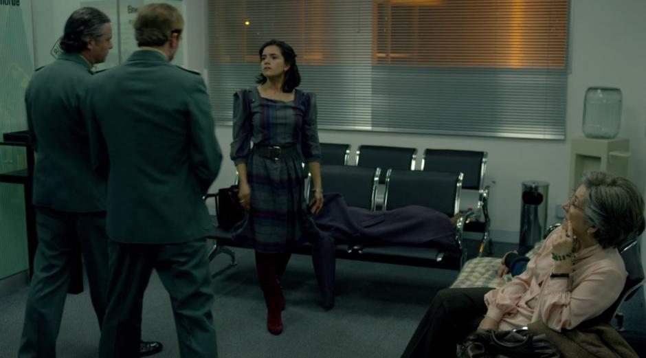 En el viaje a Alemania la madre de Pablo Escobar no participó. (Foto: Netflix)