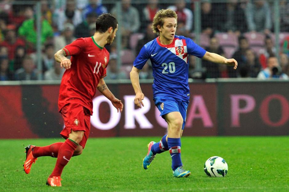El juvenil juega actualmente con el Dinamo de Zagreb