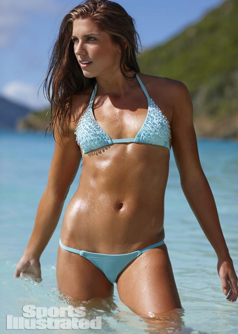 Morgan es considerada por Victoria's Secret como la deportista más sexy. (Foto: Sports Illustrated)