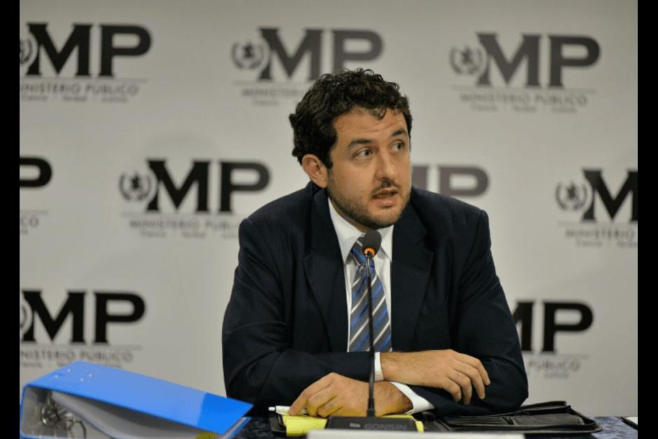 El profesional del Derecho también es el Vicepresidente del Cedecon, desde 2015. (Foto: Archivo/Soy502)