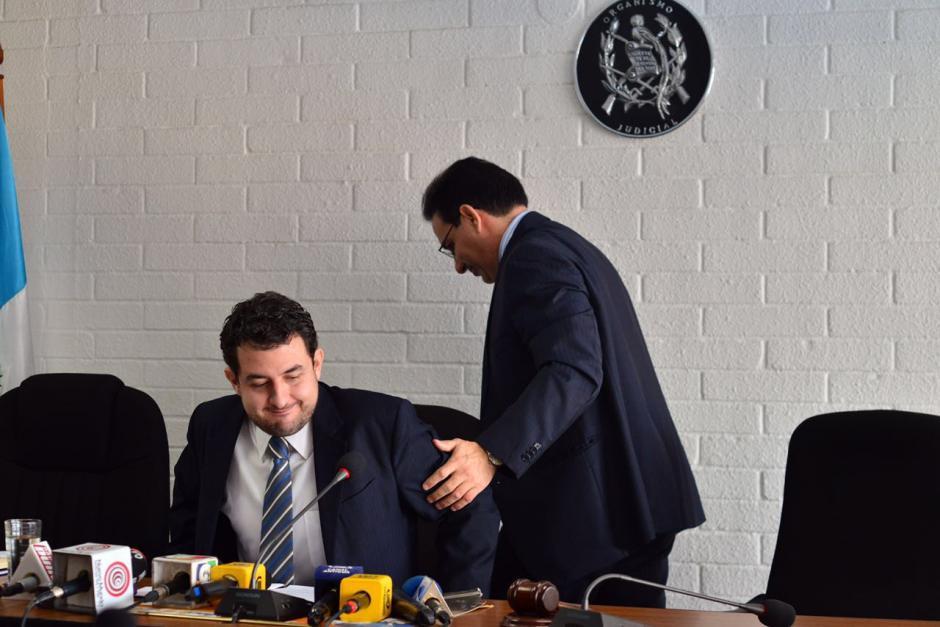 Aizenstatd fue delegado por Villeda para que lo ayude en la intervención de TCQ. (Foto: Jesús Alfonso/Soy502)