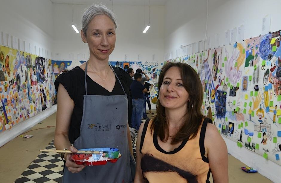 Su pieza en la 20 Bienal de Arte Paiz junto a textos de Vania Vargas dio de qué hablar. (Foto: Selene Mejía/Soy502)