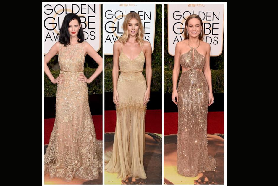 Eva Green, Rosie Huntington-Whiteley y Brie Larson.