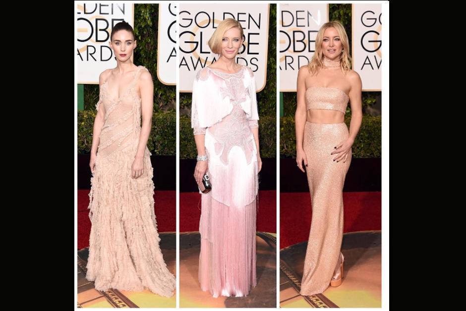 Rooney Mara, Cate Blanchett y Kate Hudson.