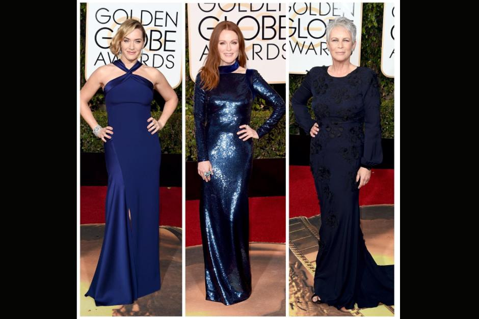Kate Winslet, Julianne Moore y Jamie Lee Curtis.