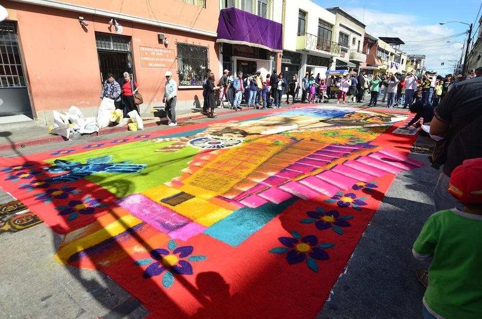 El Gran Jaguar encabeza esta alfombra. (Foto: Selene Mejía/Soy502)