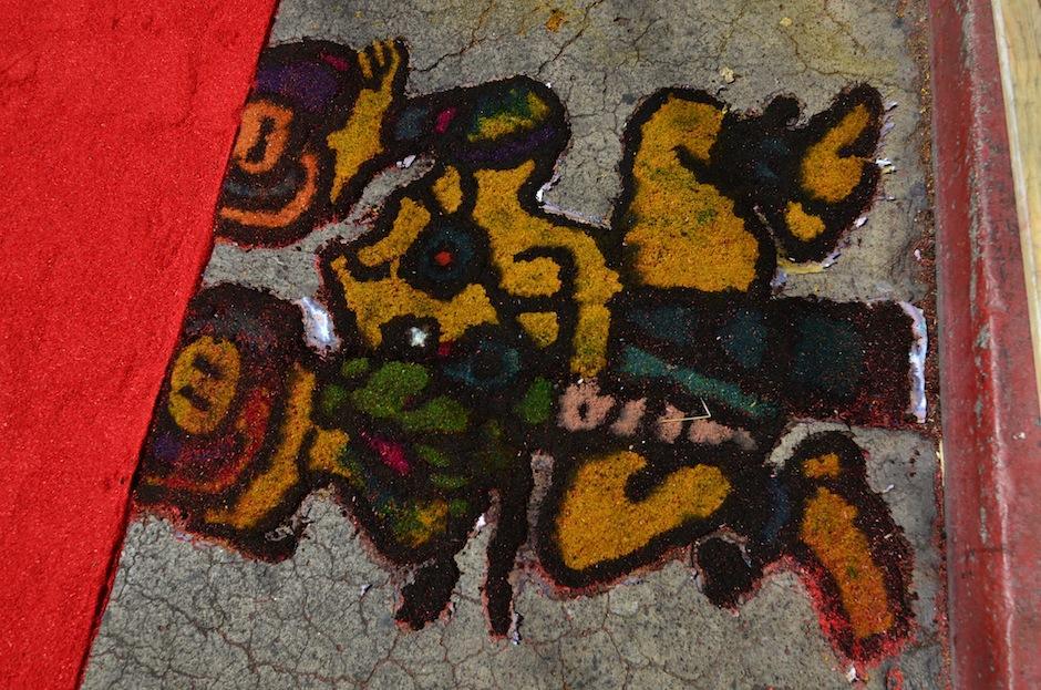 Las tres deidades de la creación maya están presentes. (Foto: Selene Mejía/Soy502)