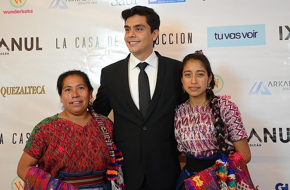 """La alfombra roja del estreno de la película guatemalteca """"Ixcanul"""", en Arkadia, dio mucho de qué hablar. (Foto: Selene Mejía/Soy502)"""