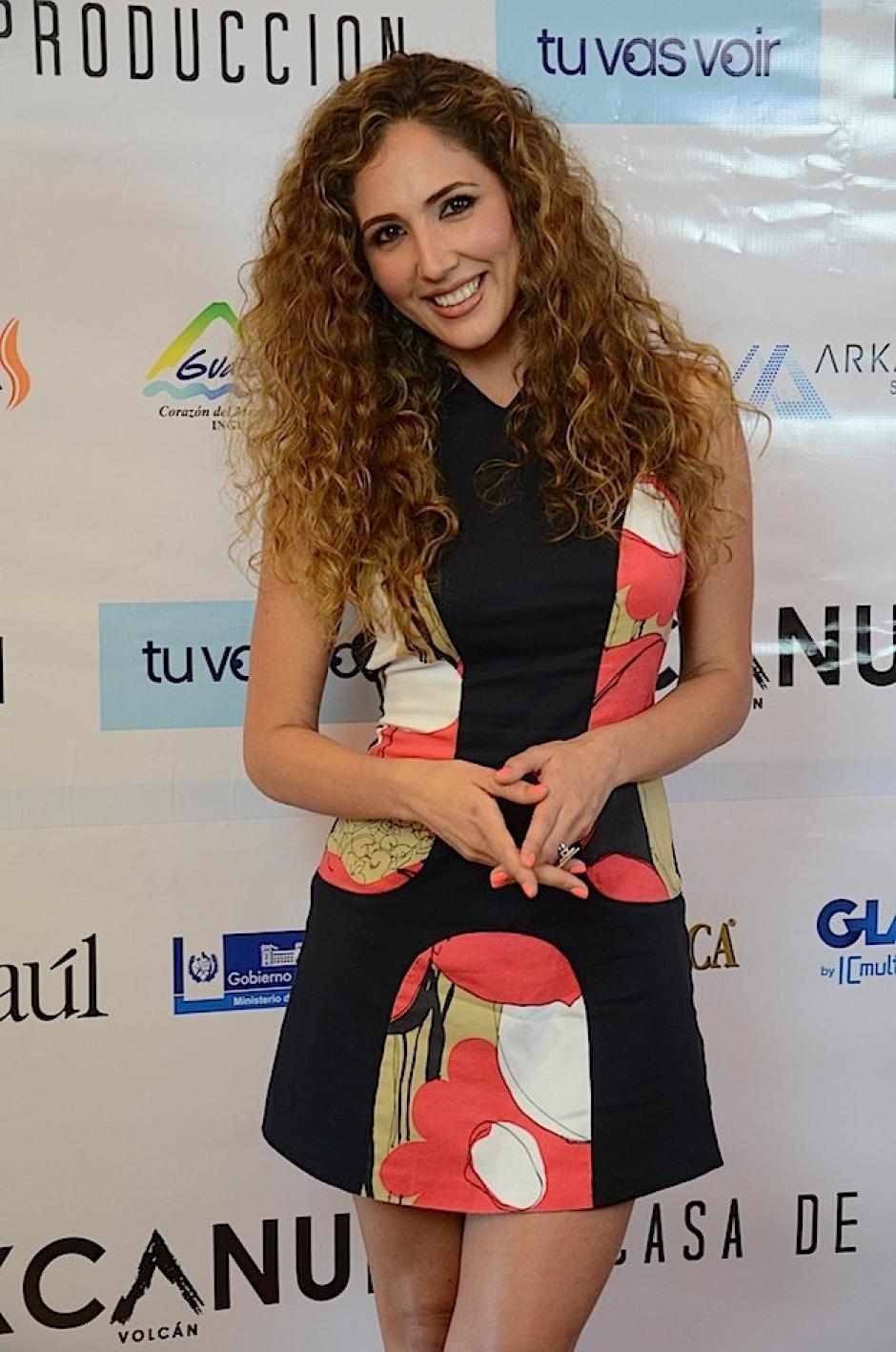 Lorena Pinot asistió junto a sus colegas músicos. (Foto: Selene Mejía/Soy502)