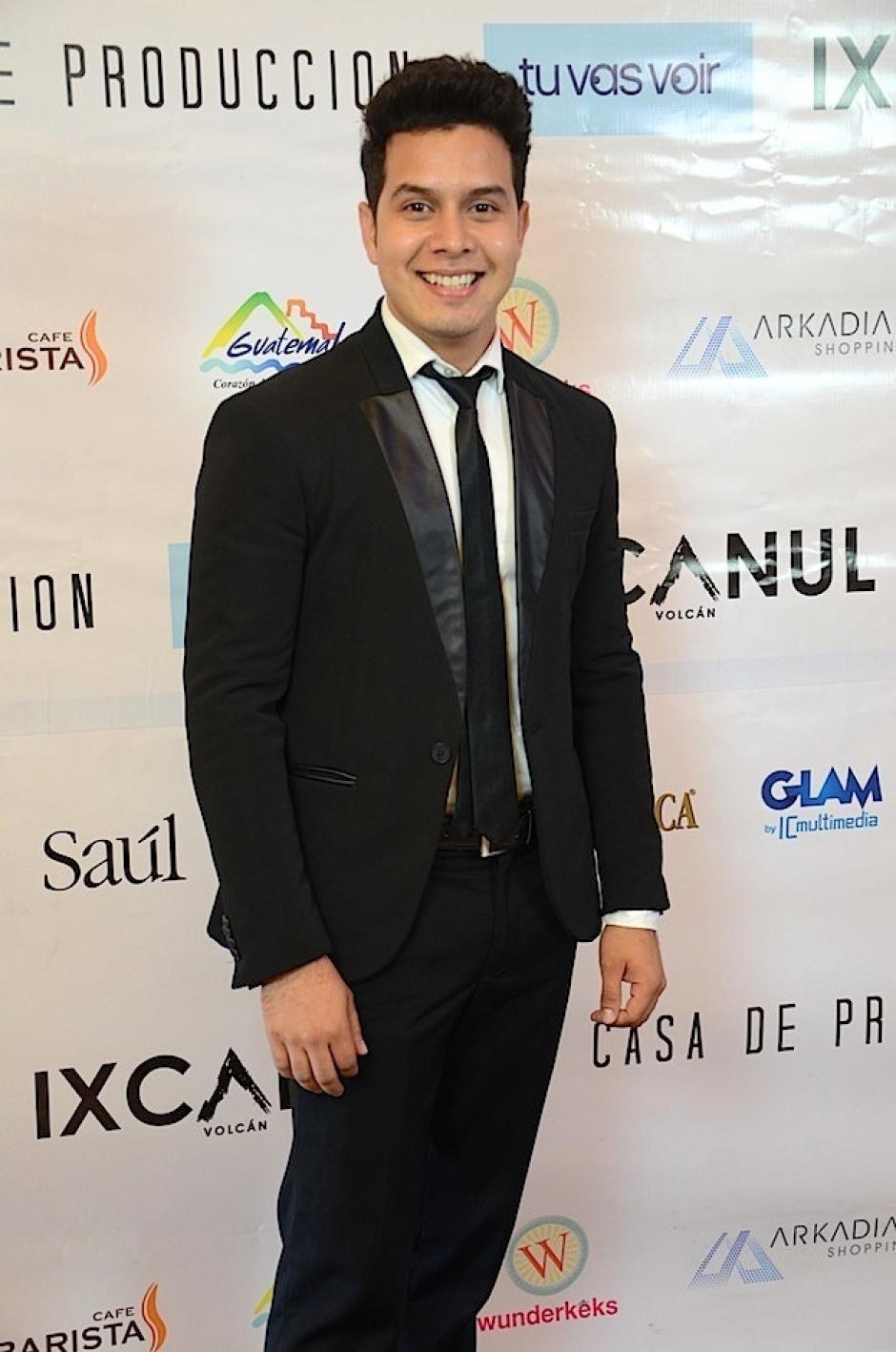 """Kevin Ruano dijo """"presente"""" en el evento. (Foto: Selene Mejía/Soy502)"""