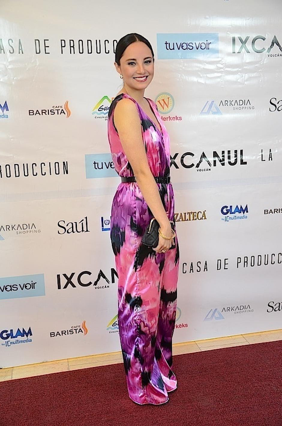 Kim Lou eligió tonos muy dinámicos. (Foto: Selene Mejía/Soy502)