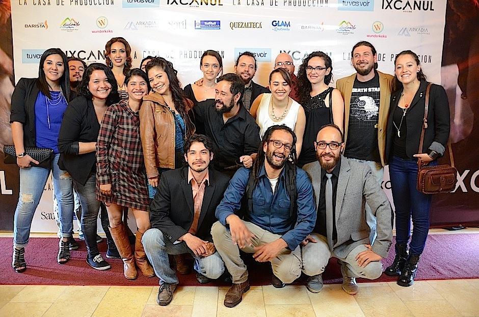 """El """"crew"""" responsable de contar esta gran historia. (Foto: Selene Mejía/Soy502)"""