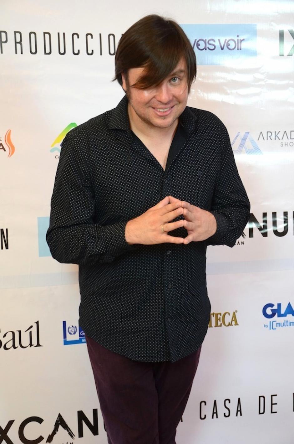 El músico Jacobo Nitsch no se perdió Ixcanul. (Foto: Selene Mejía/Soy502)