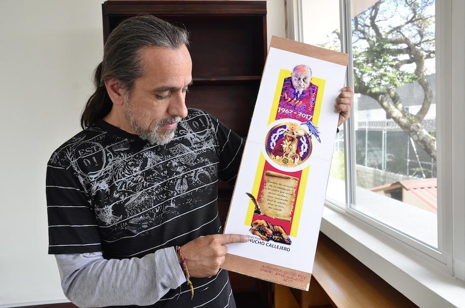 El colectivo Chucho Callejero realizará una de las alfombrar del paso de Jesús de Candelaria. (Foto: Selene Mejía/Soy502)