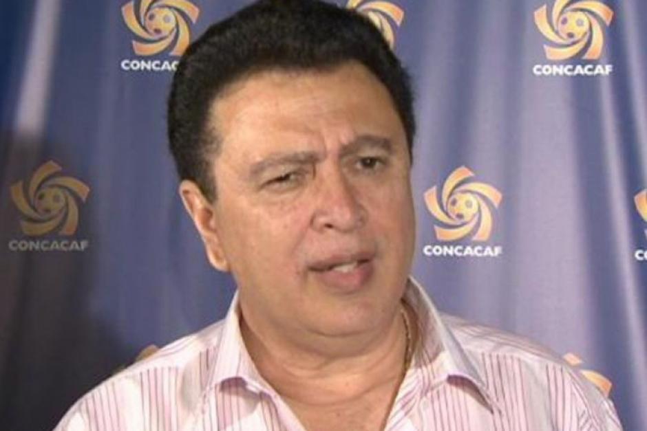 Alfredo Hawit presidente de Concacaf foto