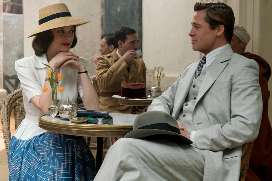 Horas después de conocer la mediática ruptura ente Brad Pitt y Angelina Jolie, Paramount Pictures lanza el tráiler de 'Aliados'. (Foto: Archivo)