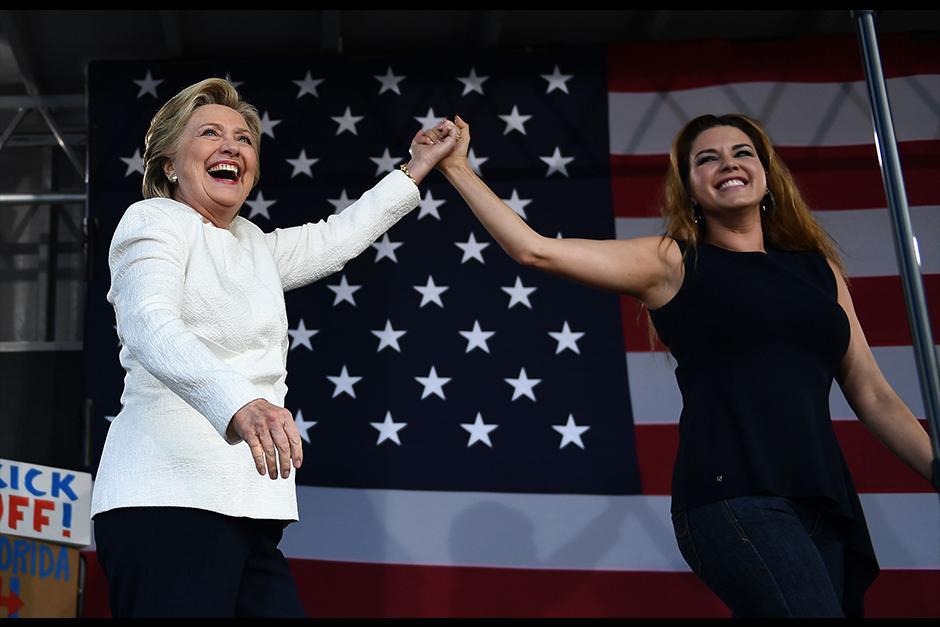 Alicia se unió con Hillary Clinton para estas elecciones. (Foto: Archivo)