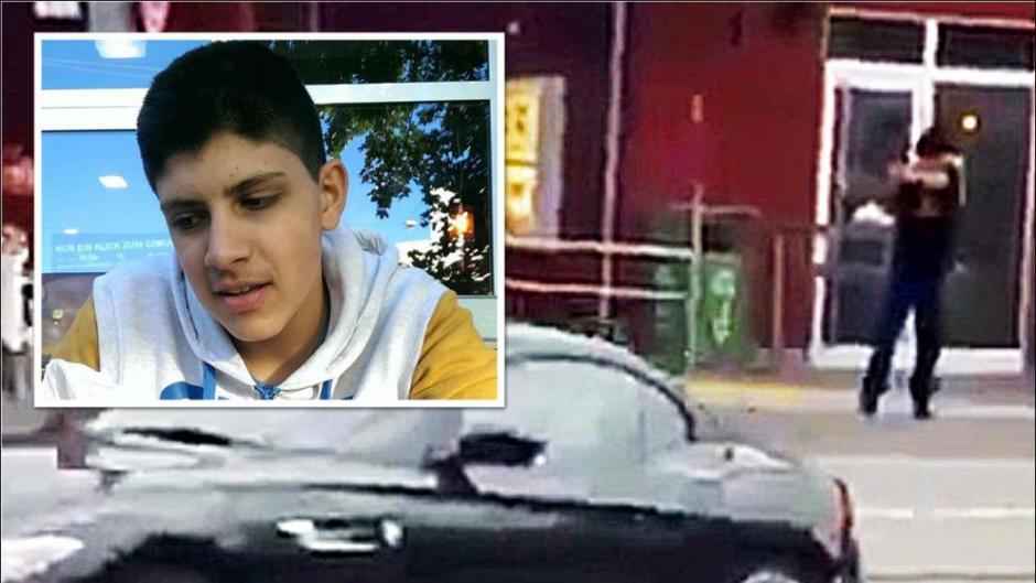 El presunto atacante fue identificado como Ali Sonboly y tiene 18 años. (Foto: bild.de)