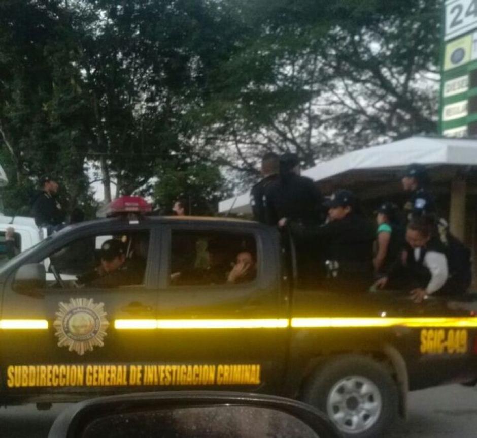 Las autoridades realizan allanamientos en cuatro departamentos del país. (Foto: PNC)