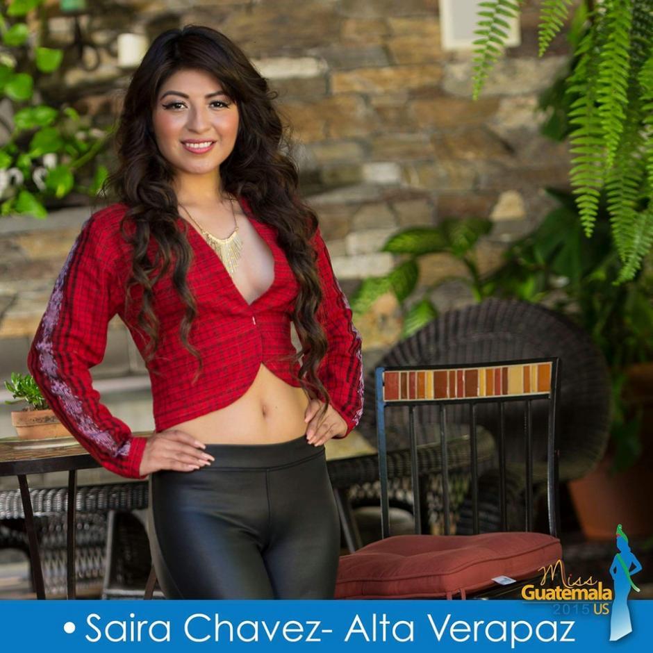 Saira Chavez representa a Alta Verapaz. (Foto: Miss Guatemala US)