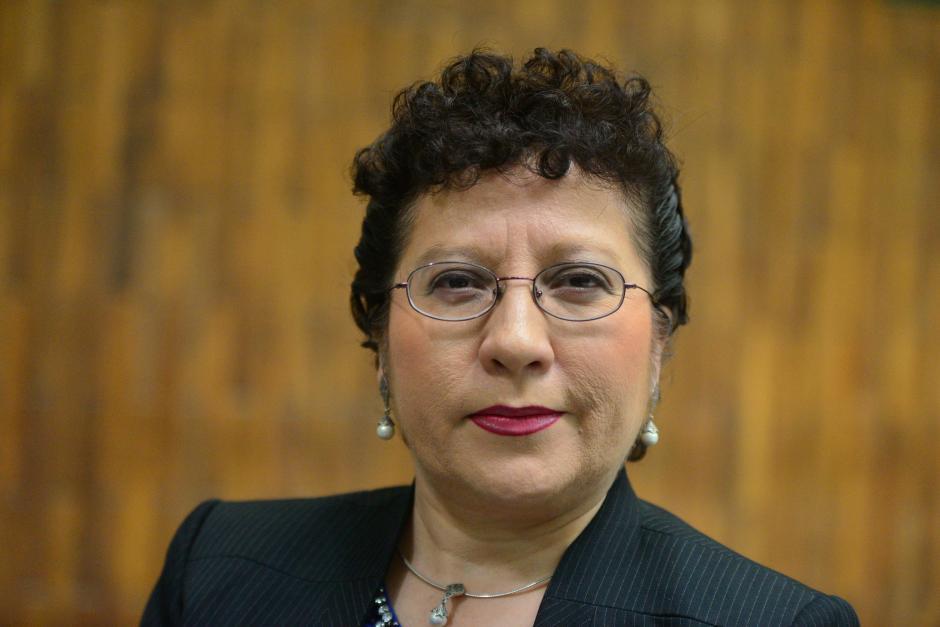 La abogada Amada Victoria Guzmán Godínez, también es reconocida por su carrera como docente universitaria. (Foto Wilder López/Soy502)