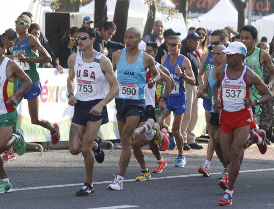 José Amado García, Maratón de Torreón, México, Guatemala