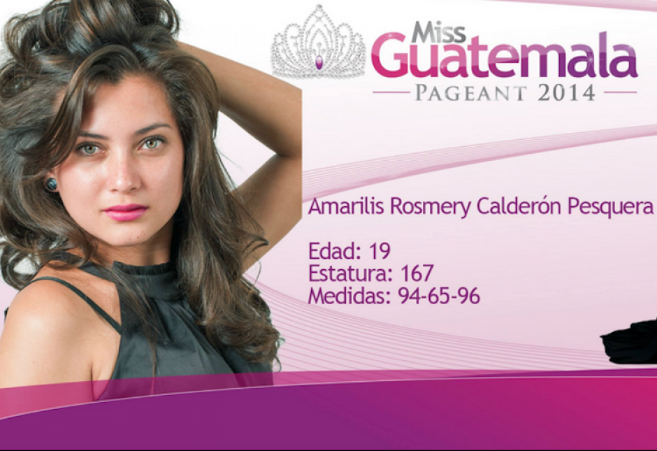 Amarilis Calderón representa al departamento de Retalhuleu. (Foto: Miss Guatemala oficial)