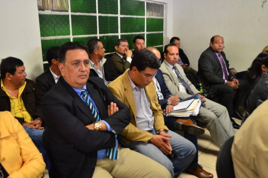 Parte de los acusados en este caso de corrupción.  (Foto: Jesús Alfonso/Soy502)
