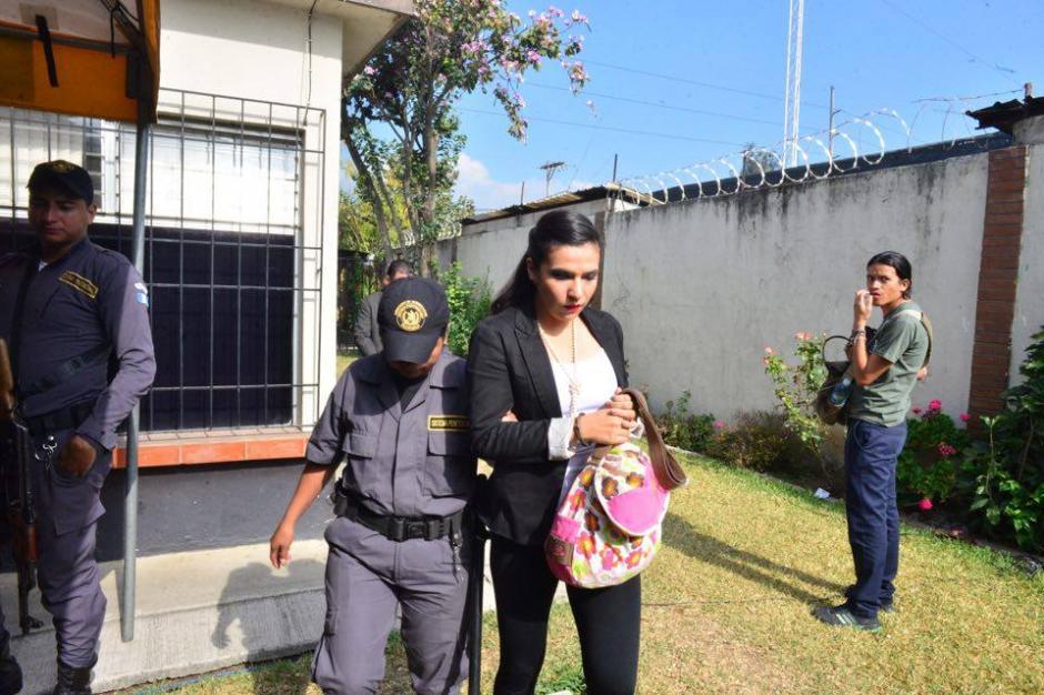 Los otros implicados en el caso solo iban con un agente del SP. (Foto: Jesús Alfonso/Soy502)