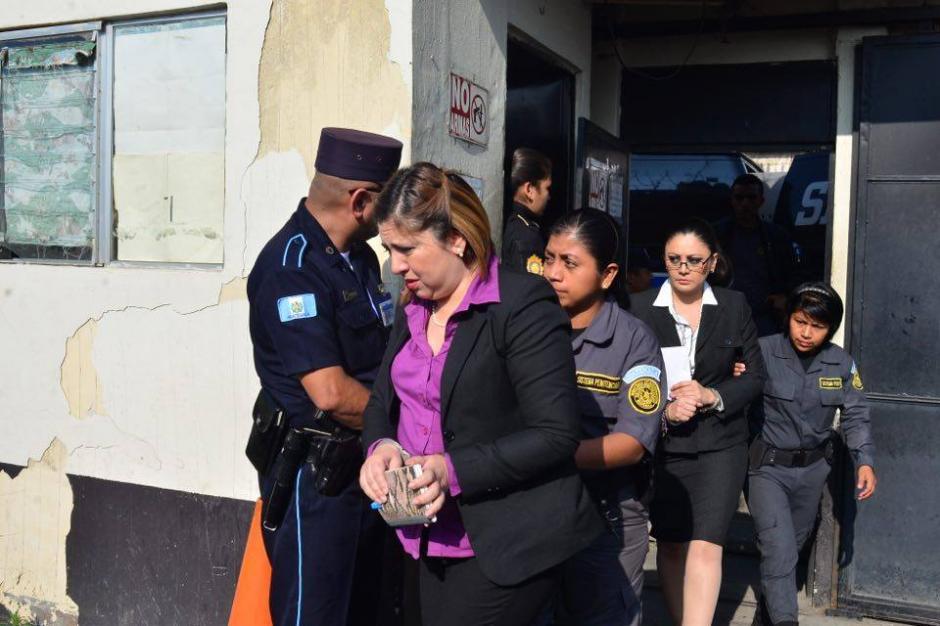 Las demás acusadas en el caso Lago de Amatitlán también fueron ligadas a proceso. (Foto: Jesús Alfonso/Soy502)