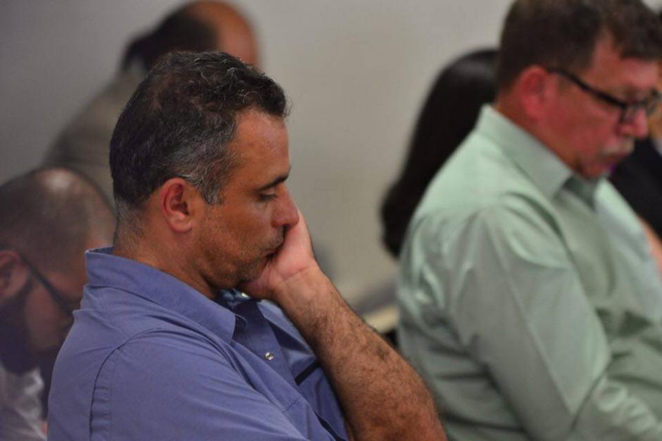 Esta es la expresión del hermano de Baldetti al saber la resolución del juez. (Foto: Jesús Alfonso/Soy502)