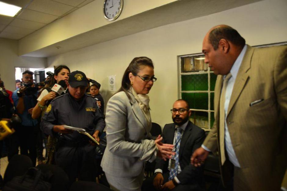 Uno de los abogados de la exvicepresidenta Roxana Baldetti. (Foto: Jesús Alfonso/Soy502)
