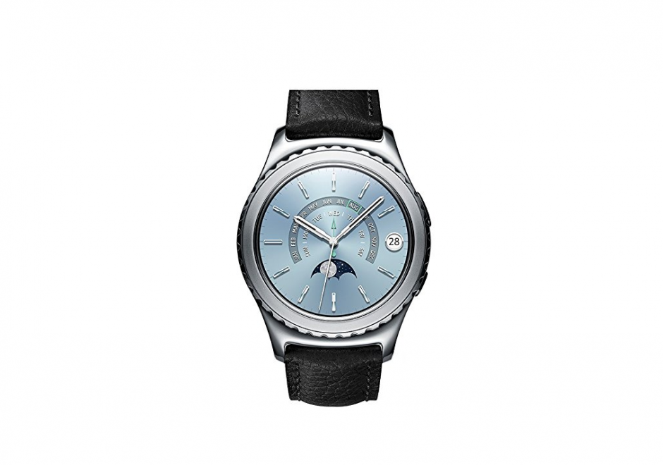 Puedes cotizar un Samsung Gear S2 Classic Premium.  (Foto: Amazon Prime Day)