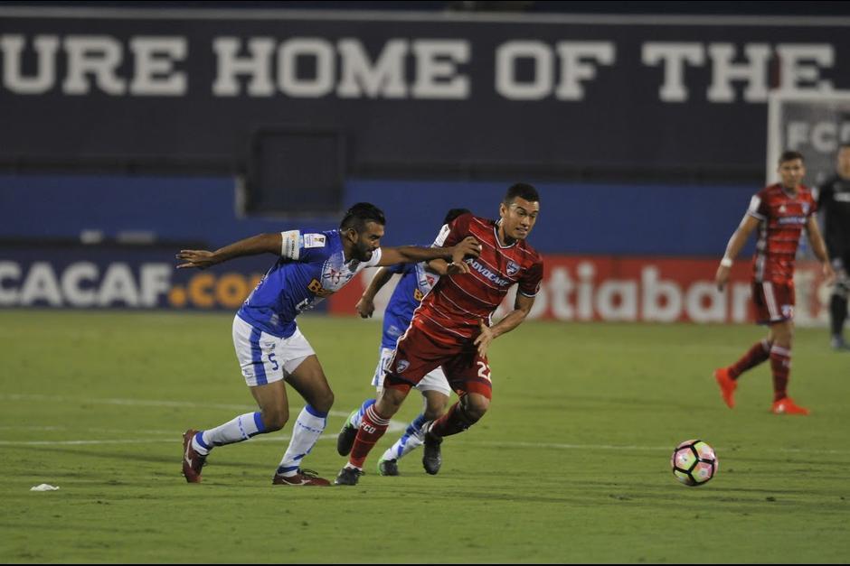 Suchitepéquez empezó con buen pie el partido contra Dallas. (Foto: Archivo/Nuestro Diario)