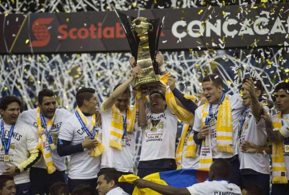 """Las """"Águilas"""" ganaron 4-1 en el marcador global y se consagraron campeones de Concacaf. (Foto: laaficion.milenio.com)"""