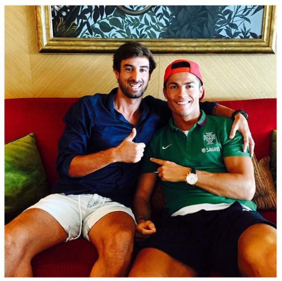 Miguel y CR7 son casi como hermanos, al menos es lo que dice el crack del Madrid. (Foto: Diez)
