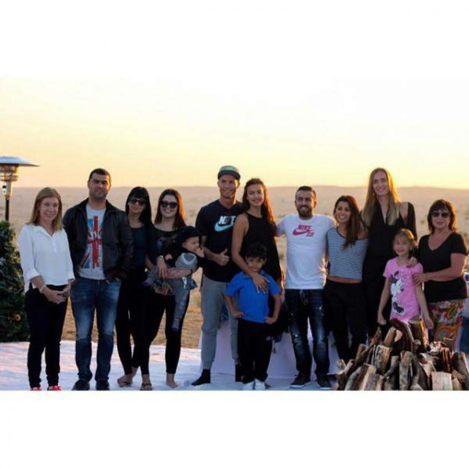 Otro de los amigos de Cristiaqno es Ricardo Regufe, quien comparte con la familia de CR7.  (Foto; Diez)