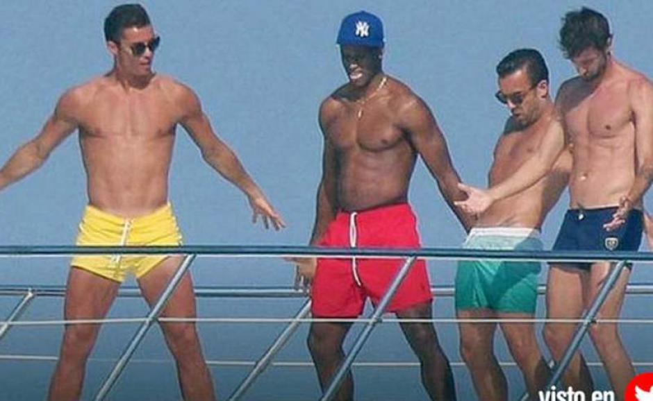 Semedo, Ricky y Miguel, son los amigos inseparables de Cristiano Ronaldo. (Foto: Diez)