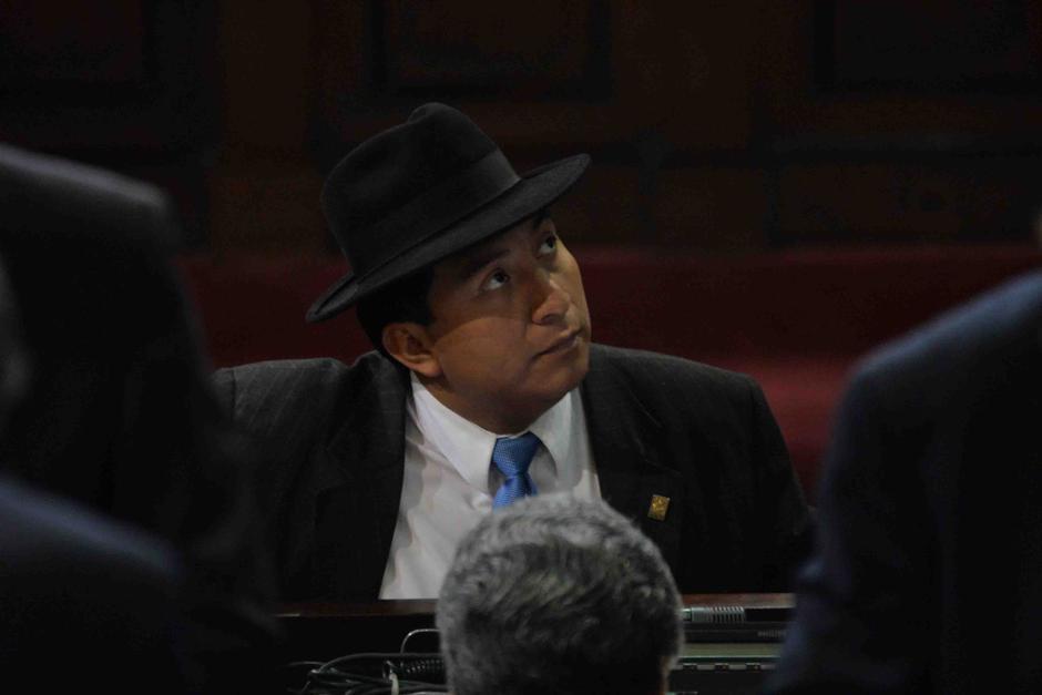El legislador dice ser víctima de un ataque por su labor de fiscalización. (Foto: Archivo/Soy502)