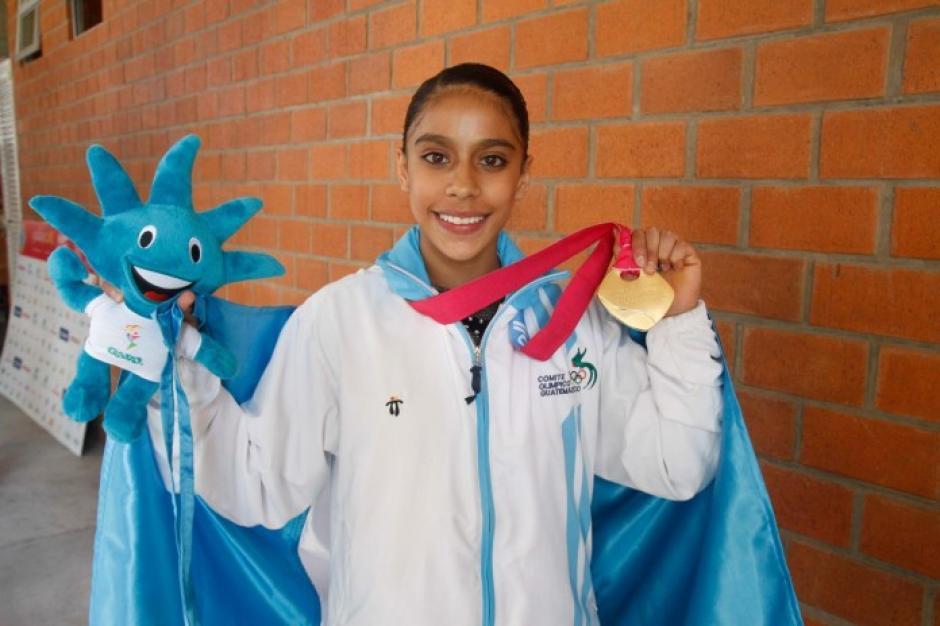 La gimnasta representó al país en dos ciclos olímpicos. (Foto: Soy502)